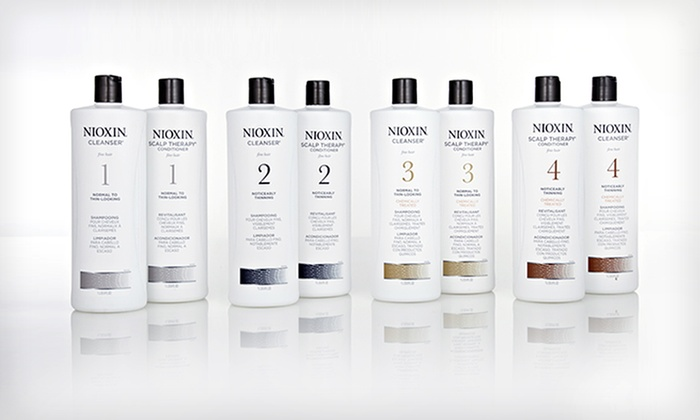 Nioxin Cleanser and Scalp Therapy Duo: $45.99 for Nioxin Hair-Thickening System (Up to $91.18 List Price). 4 Systems Available. Free Shipping.