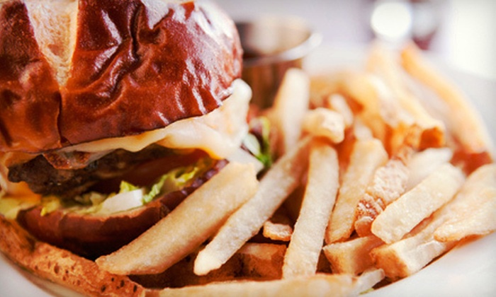 Musketeers Bar & Grill - Richfield: $10 for $20 Worth of Burgers, Pizza, and American Food at Musketeers Bar & Grill