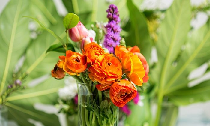 The Bloomery Floral Artists - Houston: $88 for $160 Groupon — The Bloomery Floral Artists