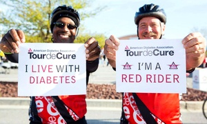 American Diabetes Association (Tour De Cure Chicagoland): $15 for Entry for One to American Diabetes Association's Tour De Cure Chicagoland on June 14 ($25 Value)