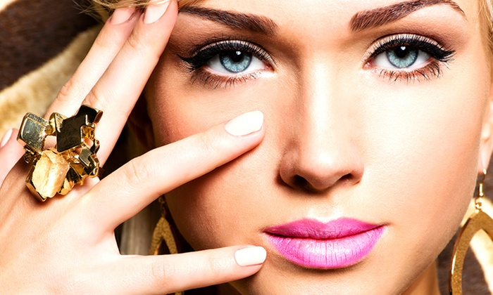 Gabriel Productions - Glenvar Heights: Makeover with Option for False Eyelashes or Airbrush Makeup at Gabriel Productions (Up to 53% Off)