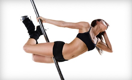 4 Pole-Dancing or Fitness Classes for 1 or 2, or One-Hour Party for Up to 10 at Fantasy Fitness Studio (Up to 62% Off)