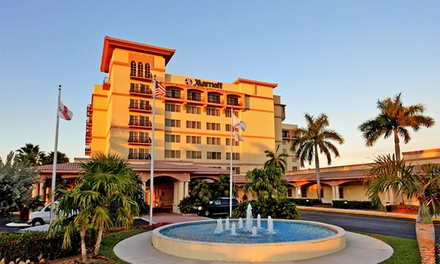Stay at Fort Lauderdale Marriott Coral Springs Hotel & Convention Center in Coral Springs, FL. Dates into August.
