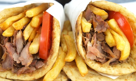 $13 for $24 Worth of Food for Two People at Eat Greek