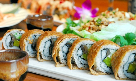 Sushi and Pan-Asian Cuisine at Taipei Tokyo (40% Off). Two Options Available.