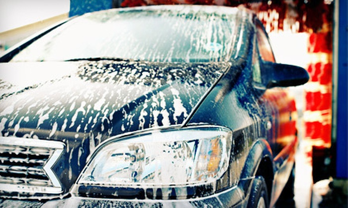 Moo Moo Express Car Wash - Multiple Locations: $15 for Three Whole Wash Packages at Moo Moo Express Car Wash ($30 Value)
