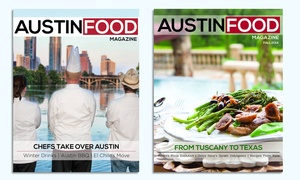 One- Or Two-year Subscription To Austin Food Magazine (up To 56% Off)