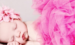 Epic Photography: Newborn, Makeover or Family Location or studio Photoshoot with Prints from Epic Photography Studio (Up to 93% Off)