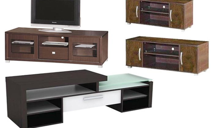 neuBID: Choice of TV Entertainment Units from R859.99 Including Delivery (Up to 51% Off)