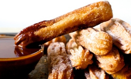 $5 for Eight BiteSize Churros with Milk Chocolate Dipping Sauce at Pablo's Kitchen Tacos Up to $12 Value