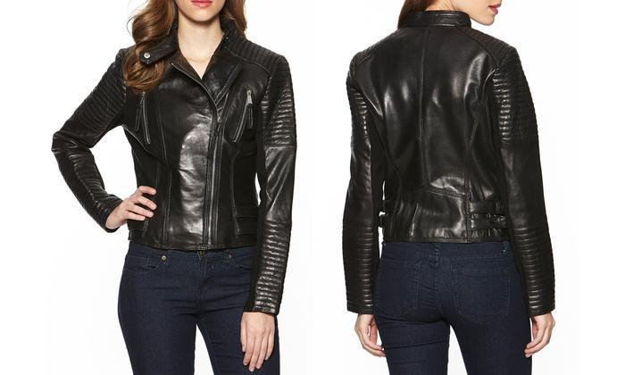 294634f616ee BCBGeneration Leather Jacket