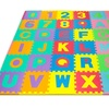 Foam Floor Alphabet and Number Puzzle Mat (96-Piece)