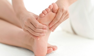 Happy Feet - Healthy Body: One or Three 60-Minute Reflexology or Aromatherapy Treatments at Happy Feet - Healthy Body (Up to 62% Off)