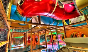 The Jungle Concord: Indoor Playplace Admission to The Jungle Concord (Up to 54% Off). Four Options Available.