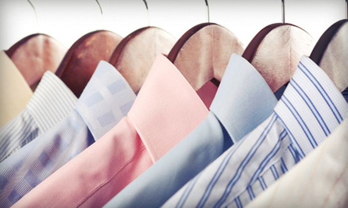 Pure Cleaners - Kips Bay: Drop-Off or Pickup-and-Delivery Dry Cleaning from Pure Cleaners (Half Off). Two Options Available.