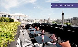 The Vista Bar: Sharing Platter For Two With Cocktails for £29.50 at Vista Rooftop Bar (43% Off)