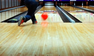 St. Charles Lanes: Two Games of Bowling with Shoe Rental and Pizza for Four or Eight at St. Charles Lanes (Up to 50% Off)