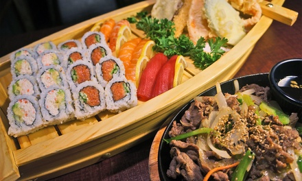 $25 for a Japanese Prix-Fixe Meal at Honey Pig Izakaya ($59 Value)
