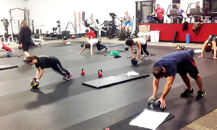 30 or 90 Days of Unlimited Boot-Camp Classes at Evolve Performance Fitness MMA (Up to 70% Off)