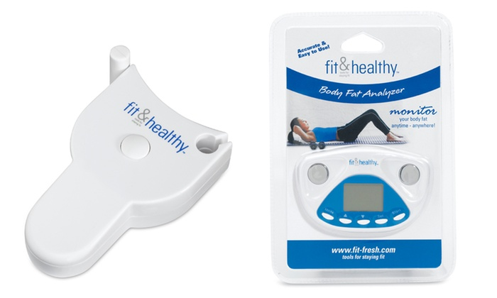 Fit & Healthy Measuring Tape or Body-Fat Analyzer: Fit & Healthy Measuring Tape or Body-Fat Analyzer. Two Options from $7.99–$9.99. Free Returns.