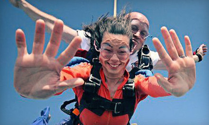 Skydive Georgetown - Andrews: $124 for a Tandem Skydive Jump at Skydive Georgetown in Andrews ($209 Value)