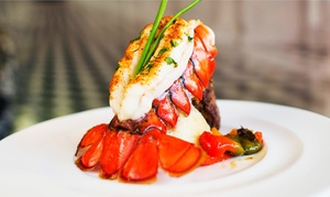 Akoya Restaurant: Dinner and Wine for Two or Four at Akoya Restaurant (Up to 46% Off)