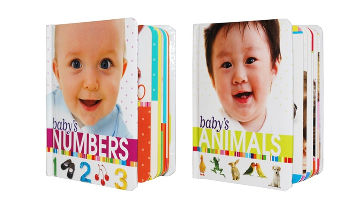 Baby's Animals, Numbers, Shapes, and Words Board-Book Set: Baby's Animals, Numbers, Shapes, and Words Board-Book Set