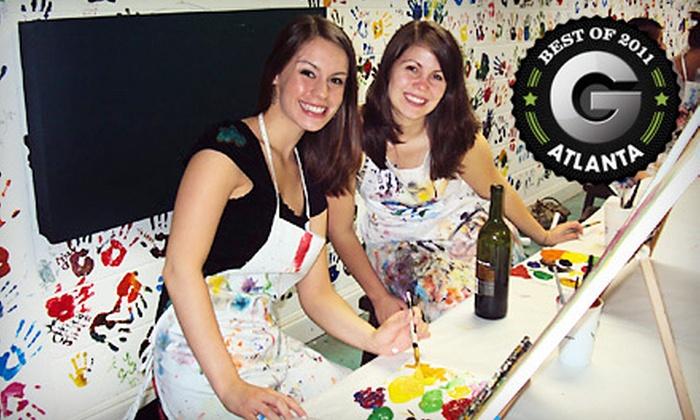 Dip 'n Dab - Atlanta: $12 for a Two-Hour BYOB Painting Class at Dip 'n Dab ($25 Value)