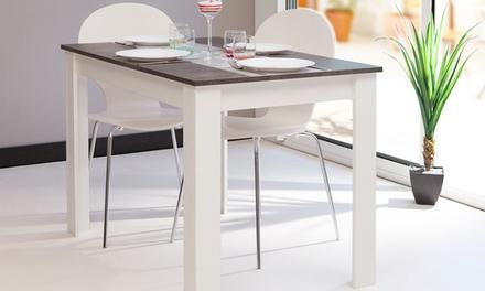 Tavolo da cucina Symbiosis disponibile in 4 colori