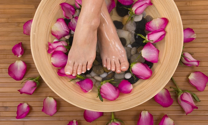 Shake your Beauty - Palmer: A Manicure and Pedicure from shake your beauty (55% Off)