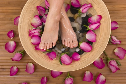 A Manicure and Pedicure from shake your beauty (55% Off)