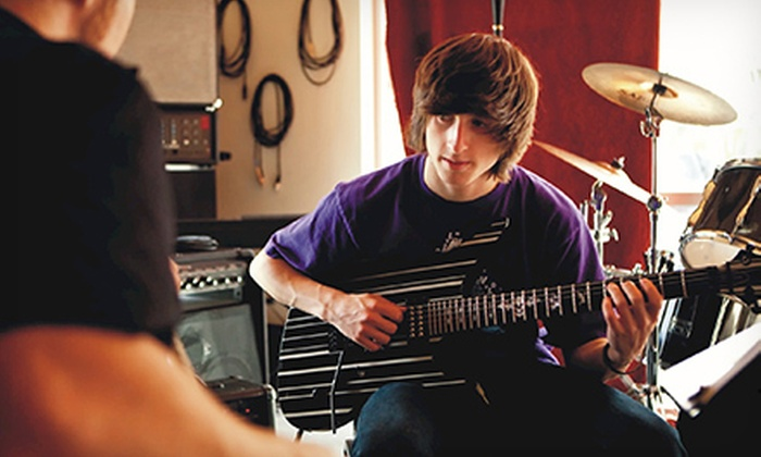 The Lesson Factory - Cal Young: $29 for Four 30-Minute Private Music Lessons at The Lesson Factory ($109 Value)