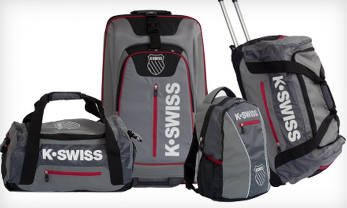Up to 77% Off K-Swiss Luggage | Groupon