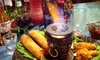 Infused Sushi & Bar - Sunnyvale: Appetizers and Drinks for Two, Four, or Six at Infused Sushi & Tri-Burger in Sunnyvale (Up to 59% Off)