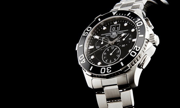 TAG Heuer Men's Aquaracer Chronograph Watch: $1,999.99 for a TAG Heuer Men's Aquaracer Chronograph Watch ($2,500 List Price). Free Shipping and Returns.