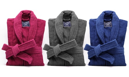 $39 for an Egyptian Cotton Terry Toweling Bathrobe Don't Pay $89.95