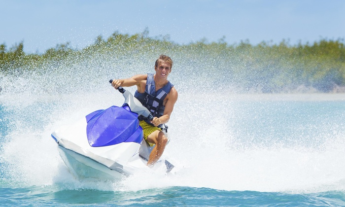 Sand Key Power Sports, Paddle Boards and Kayaks - Clearwater: Up to 51% Off Waveruner and Dolphin Boat Tours at Sand Key Power Sports, Paddle Boards and Kayaks