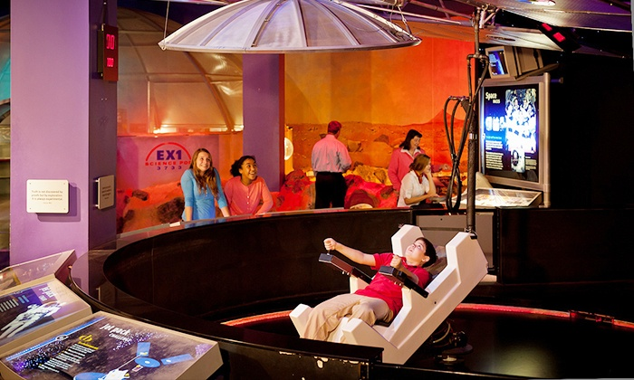 The Tech Museum of Innovation - Downtown San Jose: One-Year Individual or Family Membership to The Tech Museum of Innovation (Up to 52% Off)