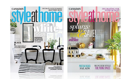 "$12 for Year of ""Style at Home"" Magazine ($24.95 Value)"