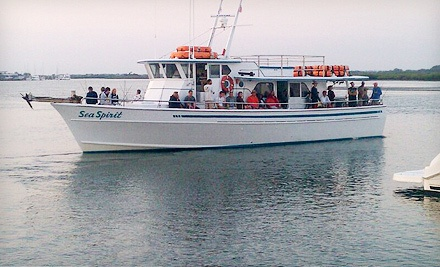 Deep sea fishing for one or two sea spirit deep sea for Sea spirit fishing