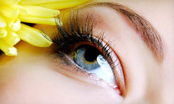 Salon La De Da - Middletown: Full Set of Natural or Mink Eyelash Extensions at Salon La De Da (Up to 68% Off)