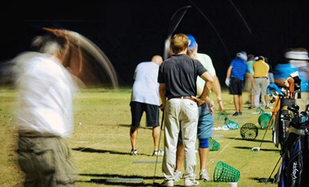 Two or Four Medium Buckets of Range Balls at Vantage Point Golf Center (55% Off)