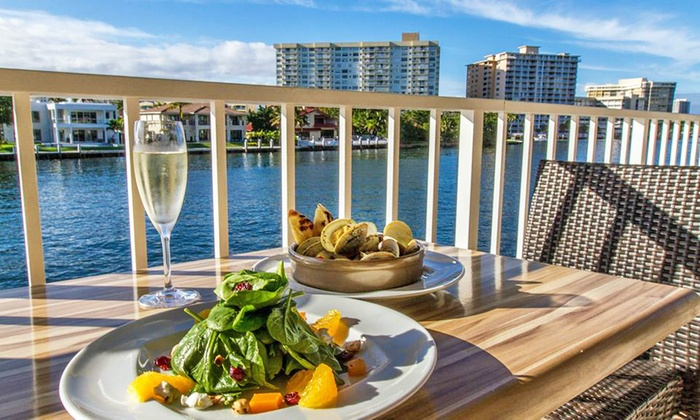 Juniper On The Water - Hallandale Beach: $31 for $50 Worth of New American Cuisine at Juniper on the Water