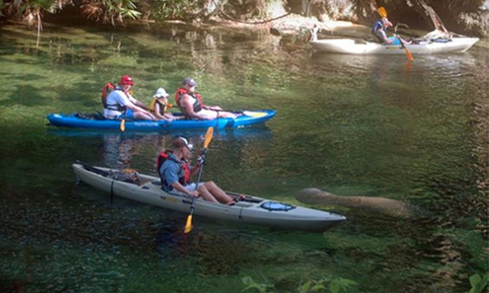 Expedition Florida Adventures - Multiple Locations: River Kayak Tour for Two or Four at Expedition Florida Adventures (Up to 53% Off)