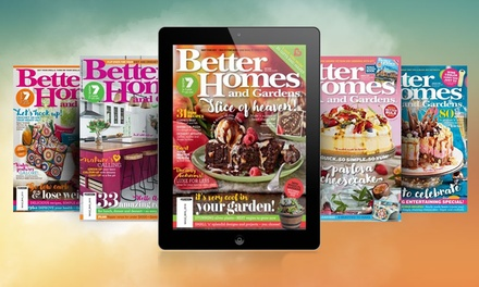 Better Homes & Gardens   12 Months of Online Access for $14.99 (Dont Pay $24.50)