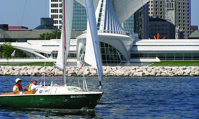 Milwaukee Community Sailing Center - Lake Park: $65 for a 2-Hour Semiprivate Intro to Sailing Class at Milwaukee Community Sailing Center ($155 Value)