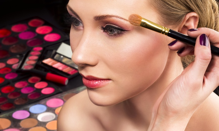 Facing Beauty Studios - Brea-Olinda: 45-Minute Makeup Application Session for One or Two at Facing Beauty Studios (Up to 57% Off)