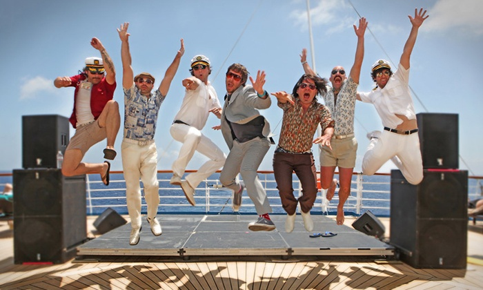 Yacht Rock Revue - The Paramount Theatre - Huntington: Yacht Rock Revue on Saturday, October 3, at 9 p.m.