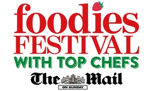 Foodies Festival: Foodies Festival Ticket for Up to Four at The Downs, Bristol, 13-15 May (Up to 54% Off)