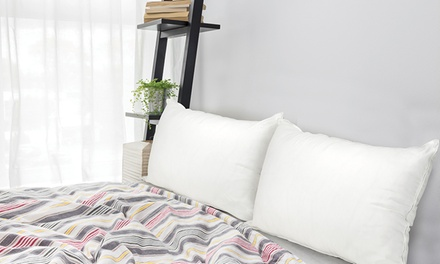 Ultra Bounce Premium Microfibre Pillow: One ($29) or Two ($45)